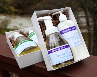 Lotion & Foaming Soap Gift Set - Gifts for Her - Pick Your Scent