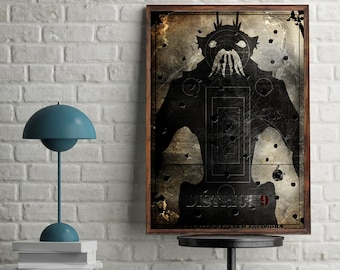 District 9 Minimal Artwork Home Decor Movie Poster