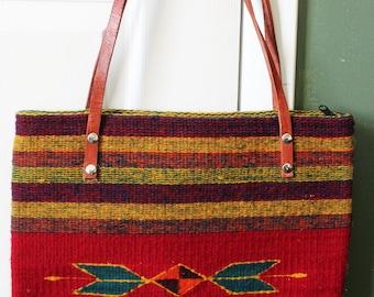 Mitla Moda Hand-woven Purse Bag Fair Trade ethical Artisan Mexico Mexican Wool