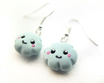 2x cloud earrings