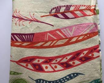 1/2 yard Field Study Linen/Cotton blend