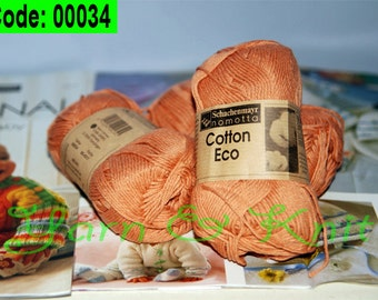Organic Cotton Eco Yarn 100%