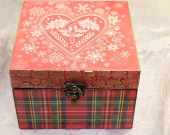 Tea box wooden tea box Tea Storage Tea Bag Box Tea bag storage gift for tea lover gifts for tea drinkers