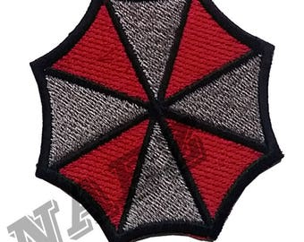 Resident Evil Logo Embroidery iron sew on Patch Badge