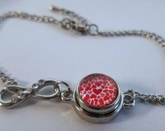 Mini Heart Crazy Infinity Bracelet