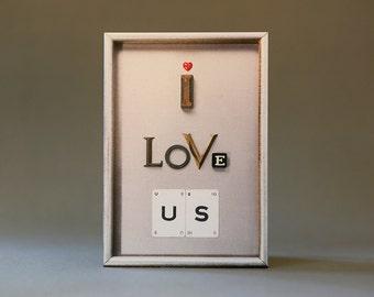 I Love Us (Silver)