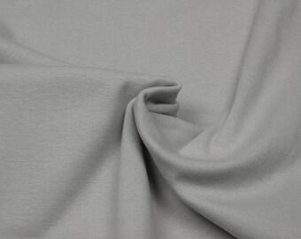 Rib knit fabric plain uni beige 0.54yd (0.5m) 003202