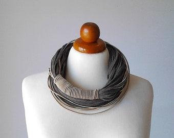 Bib necklace, bib necklace statement, bib statement necklace, chunky bib necklace, ethnic bib necklace, african bib necklace, cord necklace