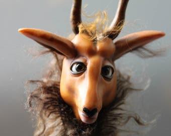 "Mundi Gove OOAK Art doll ""Kob"""