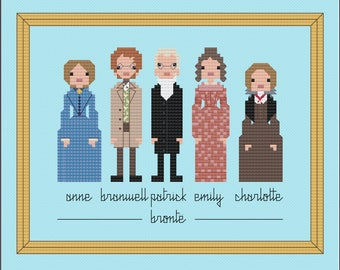 Bronte Family PDF digital pattern