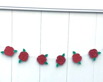 Party Full of Roses Garland