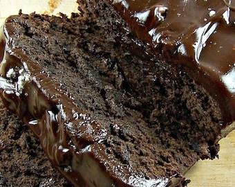 Chocolate Fudge Bread w/Chocolate Ganache