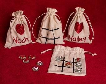 Valentine Tic Tac Toe Bags