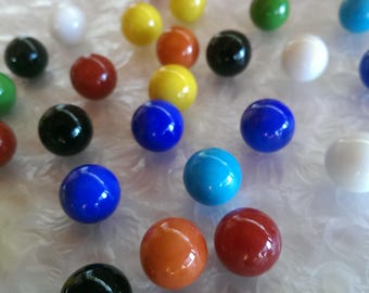 Game Marbles (Solid Color)