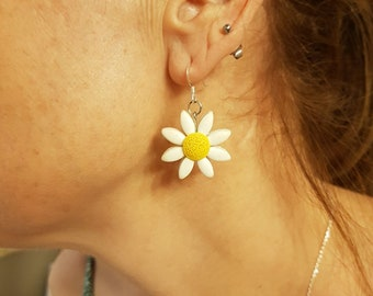 Oh My Daisy! - Polymer Earrings