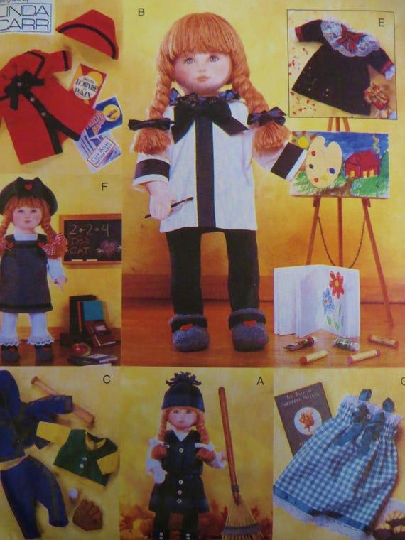 18-Zoll-Puppe Kleidung Muster Vogue Handwerk 9442 Weste