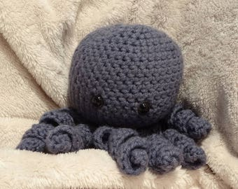 Crochet Stuffed Octopus