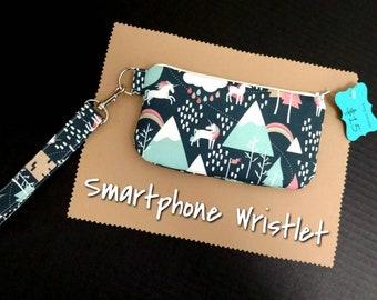 Unicorn Smartphone Wristlet