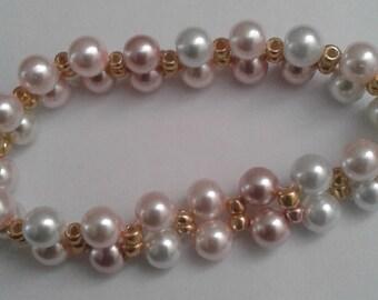 Elegant  Fashion Beaded Bracelet