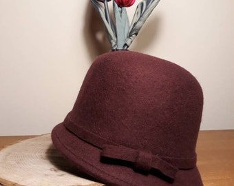 1920's style Cloche hat