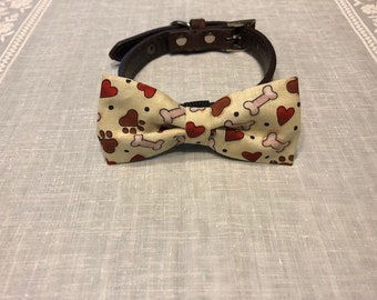 Pet Bow Tie / Bones & Hearts