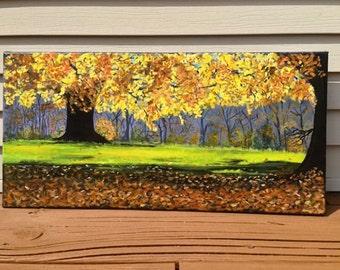 Fall Colors- Acrylic on canvas