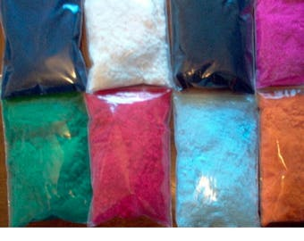 Flocking Powder 1 oz Pkg - 50 Colors Available!!!  You Choose the Color You Want!