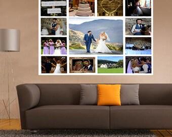 Wedding photo montage 14 images