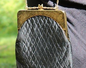 Vintage Harry Levine small black purse