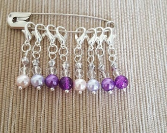 Set of 8 Stitch Markers