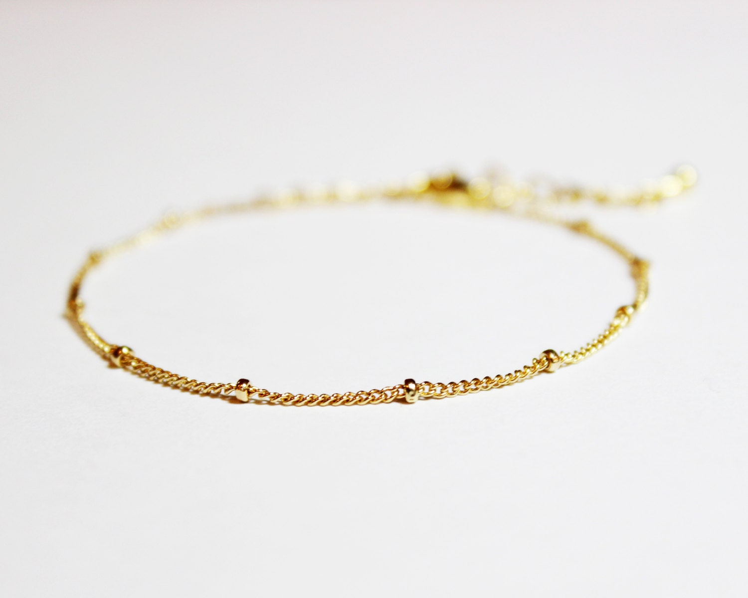 Gold Plated or Gold Filled Stacking Bracelet - BridesMaid Gift ...