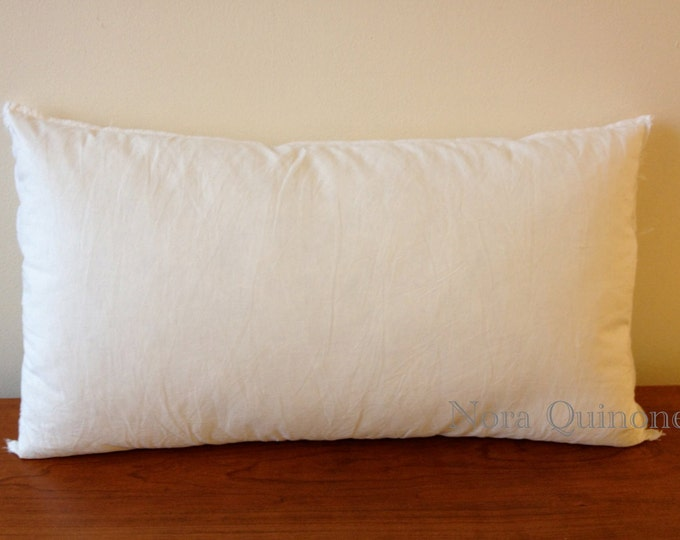10x20 TO 12x24 Pillow Inserts Form Made For Decorative Throw Pillows - Hypoallergenic Polyester - Cushion Inner Pad