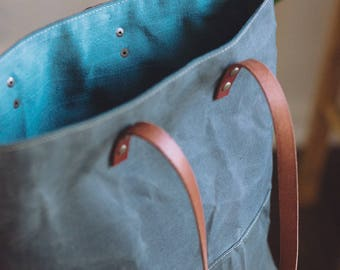 Everyday Tote in Olive