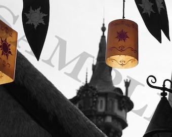 Rapunzel's Lantern print