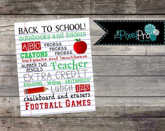 Back to school subway art decor for classroom, back to school decor for teacher gift, teacher gift with apple decor graphic design for fall