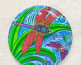 Dancing Dragonflies Ornament and Suncatcher