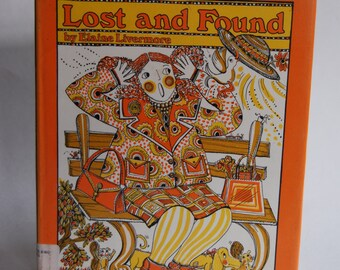 Vintage Children's Book, Lost and Found, First Edition