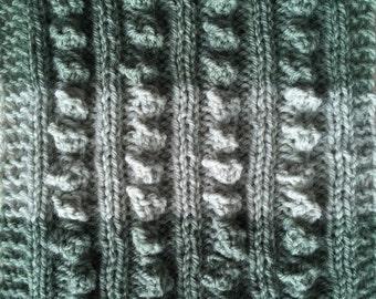 Knit Pattern Sampler Blanket Rib-It! Part 3