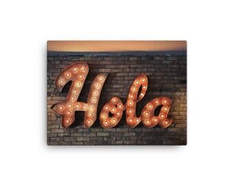 Hola - Canvas