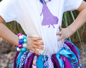 Frozen Anna Glitter Shirt - Disney Frozen Birthday Outfit - Frozen Anna Shirt  - Anna Outfit - Frozen Birthday Party - Disney Anna Shirt