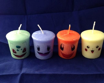 Pokemon Scented Yankee Candles