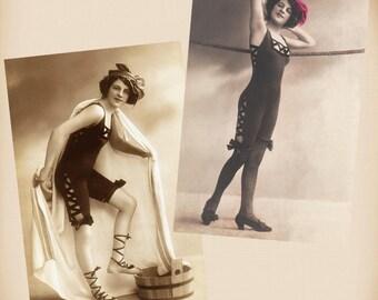 Bathing Beauty 2 New 4x6 Vintage Postcard Image Photo Prints BB22 BB06