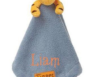 Personalized Disney Tigger Snuggly Blankie