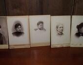 Antique Cabinet Card Phot...