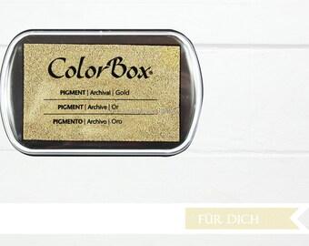 Gold - Pigment XL Inkpad