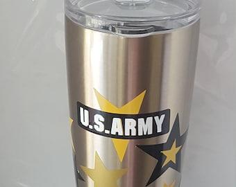 U S Army Tumbler