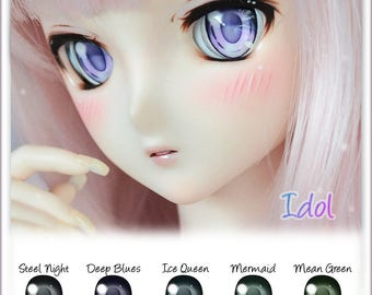 Animetic  Dollfie Dream eyes - DD, Smart doll, BJD - design IDOL