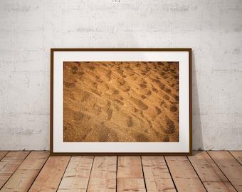Abstract Sand Beach