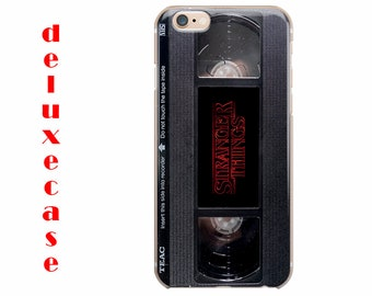 Stranger Things VHS iPhone 7 Plus case Retro iPhone 6 7 8 Case iPhone 7 case iPhone 6 7 8 Plus Case iPhone 6S Case iPhone 6S Plus Case us525