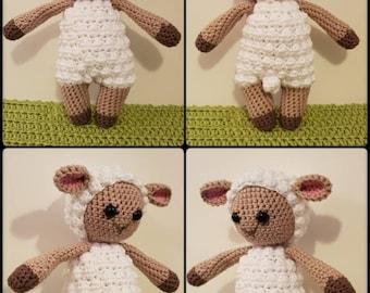 Crochet Cuddle-Me Sheep